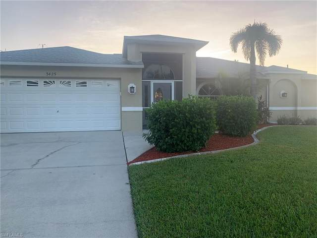 3425 SW 25th Place, Cape Coral, FL 33914 (#220069226) :: Vincent Napoleon Luxury Real Estate
