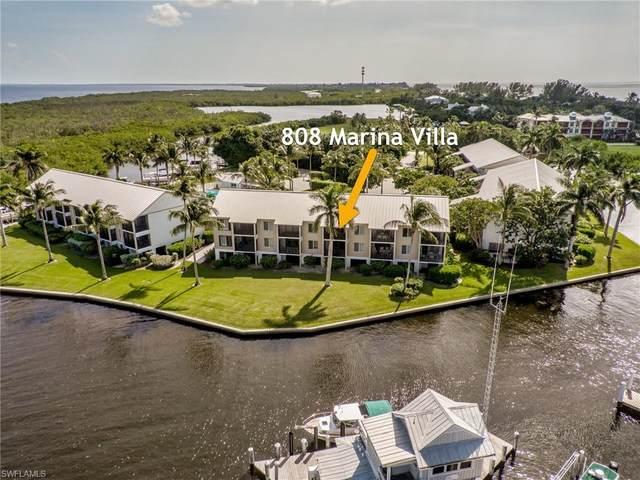 808 Marina Villas, Captiva, FL 33924 (MLS #220069593) :: Domain Realty