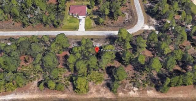 1836 Marlboro Lane, Lehigh Acres, FL 33972 (#220069677) :: The Dellatorè Real Estate Group