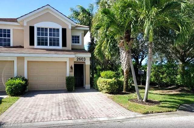 2603 Somerville Loop #101, Cape Coral, FL 33991 (MLS #220071124) :: The Naples Beach And Homes Team/MVP Realty