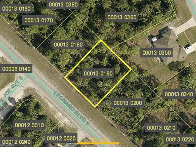 4944 Leonard Boulevard S, Lehigh Acres, FL 33973 (MLS #220076509) :: #1 Real Estate Services