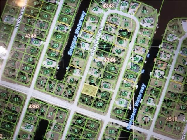 9151 Snapper Circle, Port Charlotte, FL 33981 (MLS #220076771) :: RE/MAX Realty Team