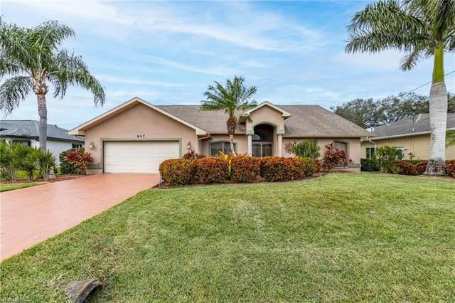 847 SW 21st Lane, Cape Coral, FL 33991 (MLS #220077359) :: #1 Real Estate Services
