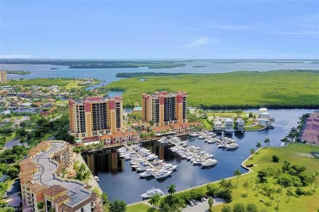 5781 Cape Harbour Drive #801, Cape Coral, FL 33914 (MLS #220077499) :: Florida Homestar Team