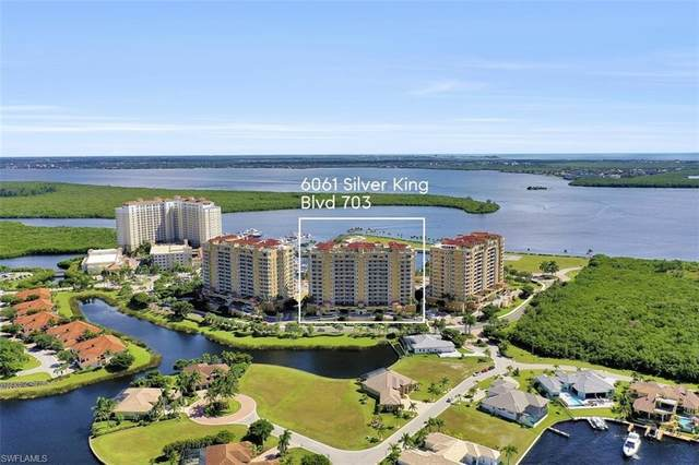 6061 Silver King Boulevard #703, Cape Coral, FL 33914 (#221000806) :: Caine Luxury Team