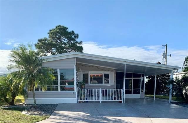 739 Knotty Pine Circle, North Fort Myers, FL 33917 (MLS #221001995) :: Florida Homestar Team