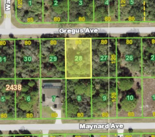 15523 Gregus Avenue, Port Charlotte, FL 33953 (MLS #221004545) :: RE/MAX Realty Group