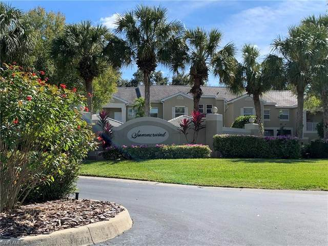 12030 Summergate Circle #201, Fort Myers, FL 33913 (MLS #221004815) :: Team Swanbeck