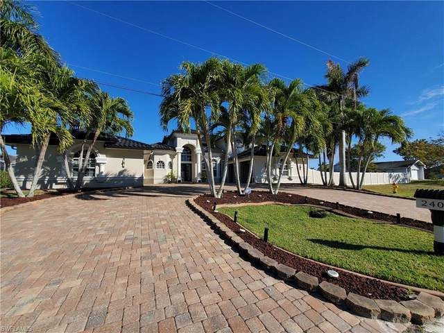 2409 SW 40th Street, Cape Coral, FL 33914 (MLS #221005489) :: The Naples Beach And Homes Team/MVP Realty