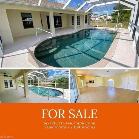1421 NE 1st Avenue, Cape Coral, FL 33909 (#221005721) :: Southwest Florida R.E. Group Inc