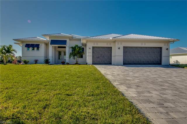 3809 Kismet Lakes Lane, Cape Coral, FL 33993 (MLS #221009037) :: RE/MAX Realty Team