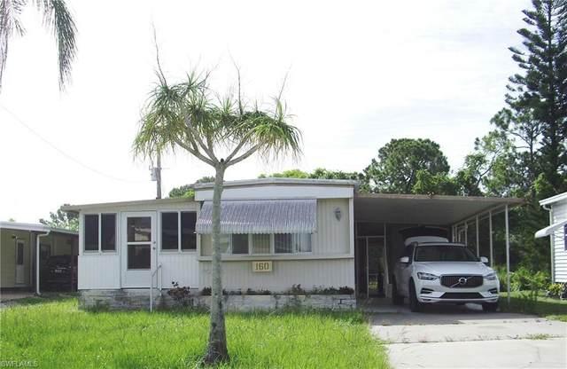 160 Santa Fe Trail, North Fort Myers, FL 33917 (MLS #221009718) :: BonitaFLProperties