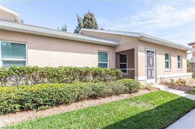 16841 Sanibel Sunset Court #103, Fort Myers, FL 33908 (MLS #221012898) :: Domain Realty