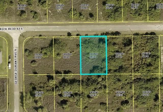 840 Frederick Reid Street E, Lehigh Acres, FL 33974 (MLS #221015244) :: NextHome Advisors