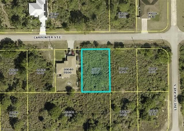 840 Carpenter Street E, Lehigh Acres, FL 33974 (MLS #221015249) :: NextHome Advisors