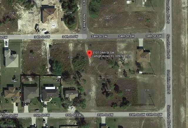 3107 34th Street SW, Lehigh Acres, FL 33976 (MLS #221027639) :: Florida Homestar Team