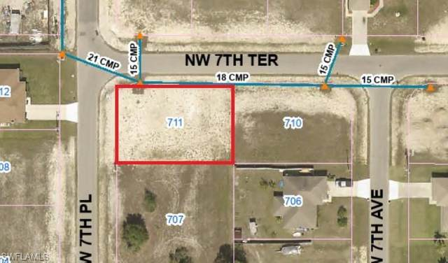 711 NW 7th Place, Cape Coral, FL 33993 (MLS #221027847) :: Realty World J. Pavich Real Estate