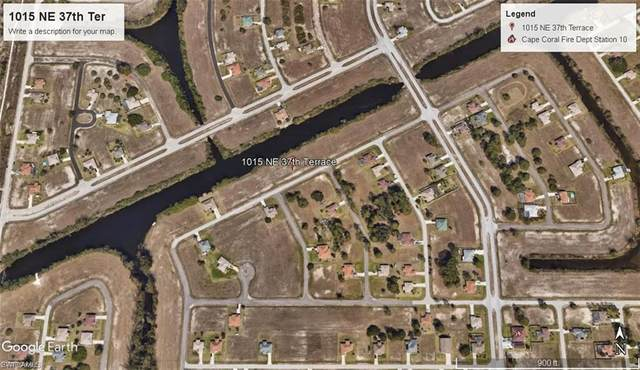 1015 NE 37th Terrace, Cape Coral, FL 33909 (MLS #221028556) :: Realty World J. Pavich Real Estate
