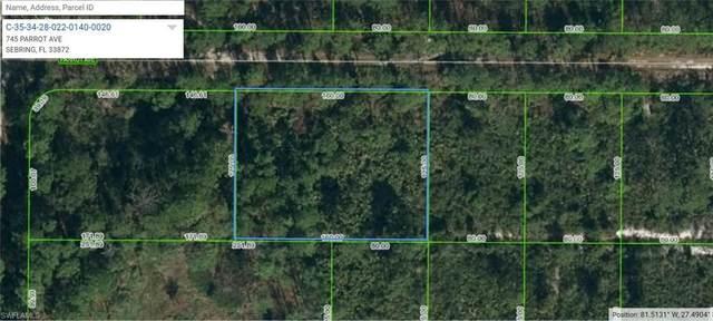 745 Parrot Avenue, Sebring, FL 33872 (MLS #221037594) :: Medway Realty