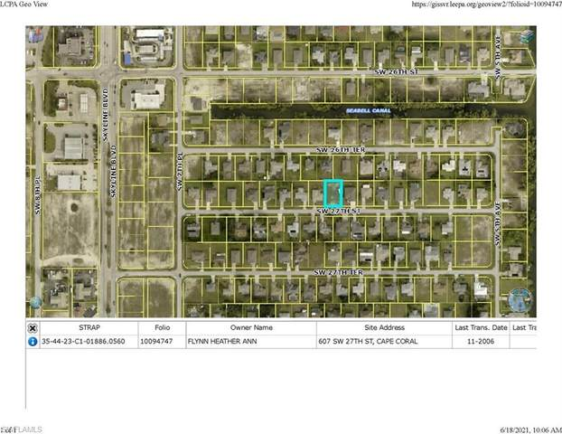607 SW 27th Street, Cape Coral, FL 33914 (MLS #221045399) :: Realty World J. Pavich Real Estate