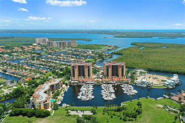 5781 Cape Harbour Drive #1401, Cape Coral, FL 33914 (MLS #221051581) :: Medway Realty