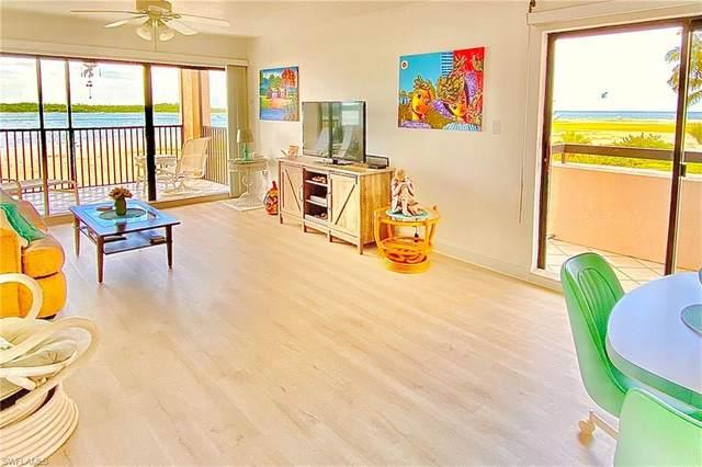 8402 Estero Boulevard #205, Fort Myers Beach, FL 33931 (MLS #221054130) :: Realty World J. Pavich Real Estate