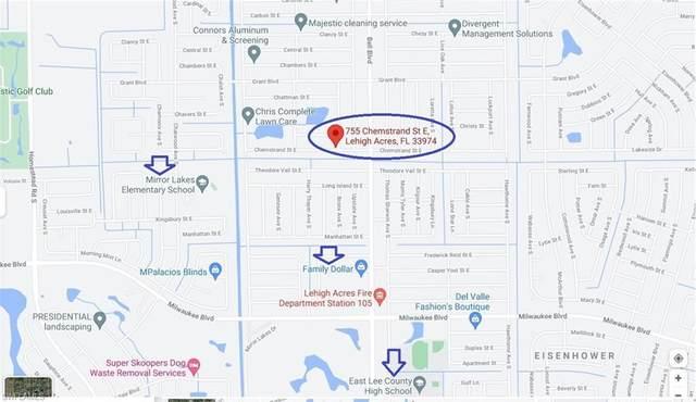 755 Chemstrand Street E, Lehigh Acres, FL 33974 (MLS #221054633) :: EXIT Gulf Coast Realty