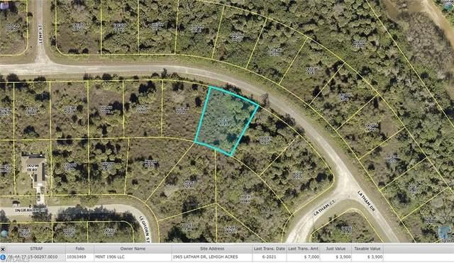 1965 Latham Drive, Lehigh Acres, FL 33972 (MLS #221056443) :: Medway Realty
