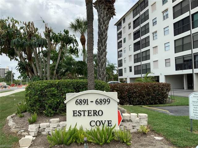 6891 Estero Boulevard #323, Fort Myers Beach, FL 33931 (MLS #221061524) :: Realty One Group Connections