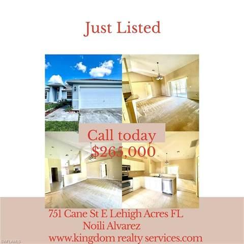 751 Cane Street E, Lehigh Acres, FL 33974 (MLS #221064328) :: #1 Real Estate Services