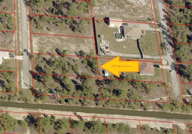 1204 Highland Avenue, Lehigh Acres, FL 33972 (MLS #221065895) :: #1 Real Estate Services
