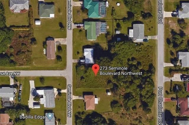 273 Seminole Boulevard NW, Port Charlotte, FL 33952 (MLS #221066221) :: RE/MAX Realty Team