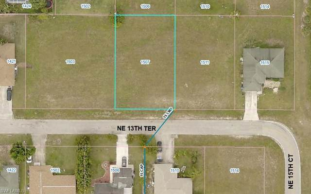 1507 NE 13th Terrace, Cape Coral, FL 33909 (MLS #221066423) :: #1 Real Estate Services