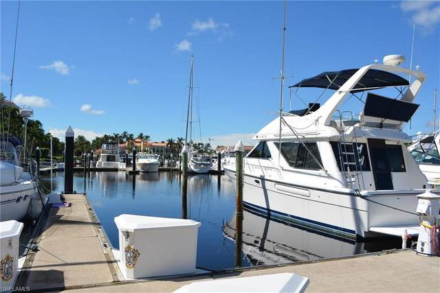 48 Ft. Boat Slip At Gulf Harbour G-19, Fort Myers, FL 33908 (MLS #221066510) :: Clausen Properties, Inc.