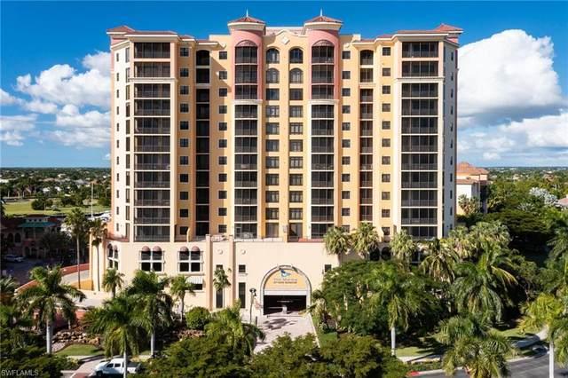 5793 Cape Harbour Drive #1018, Cape Coral, FL 33914 (MLS #221066693) :: Domain Realty