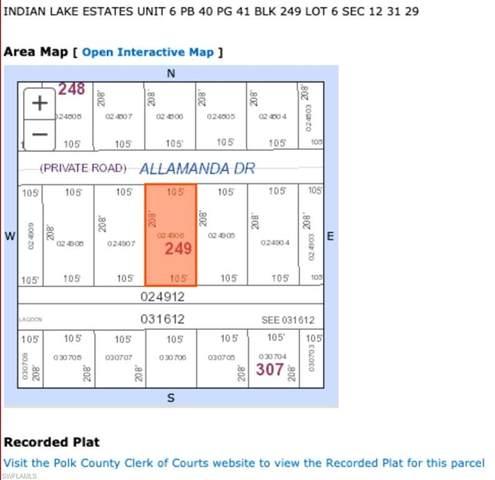Allamanda Drive, INDIAN LAKE ESTATES, FL 33855 (#221070352) :: MVP Realty