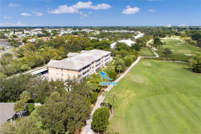 14401 Patty Berg Drive #103, Fort Myers, FL 33919 (MLS #221072711) :: RE/MAX Realty Team