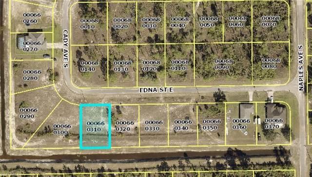 1246 Edna Street E, Lehigh Acres, FL 33974 (MLS #221074139) :: Medway Realty