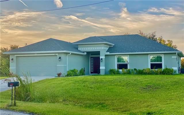 663 Mirror Lakes Court, Lehigh Acres, FL 33974 (MLS #221074439) :: #1 Real Estate Services
