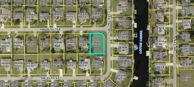 206 SW 44th Terrace, Cape Coral, FL 33914 (MLS #221076049) :: BonitaFLProperties