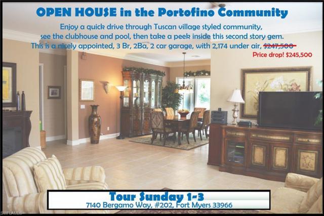 7140 Bergamo Way #202, Fort Myers, FL 33966 (MLS #218059261) :: Clausen Properties, Inc.