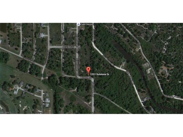 1251 Sulstone Dr, Port Charlotte, FL 33983 (MLS #216039685) :: The New Home Spot, Inc.