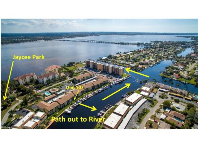4230 SE 20th Pl #107, Cape Coral, FL 33904 (#217006431) :: Homes and Land Brokers, Inc