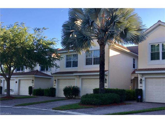 11600 Marino Ct #105, Fort Myers, FL 33908 (MLS #217026481) :: The New Home Spot, Inc.