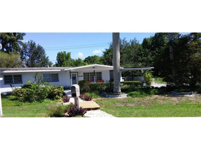 2418 Chandler Ave, Fort Myers, FL 33907 (MLS #217038299) :: The New Home Spot, Inc.
