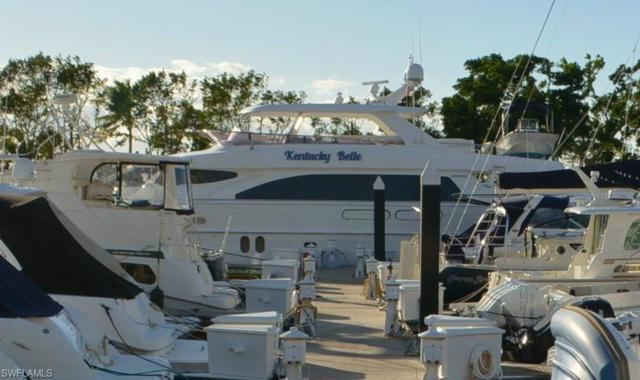 97 Ft. Boat Slip At Gulf Harbour G 10-11, Fort Myers, FL 33908 (MLS #217065609) :: RE/MAX Realty Team
