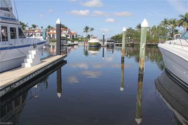 48' BOAT SLIP AT GULF HARBOUR B 14 B-14, Fort Myers, FL 33908 (MLS #218029428) :: Clausen Properties, Inc.