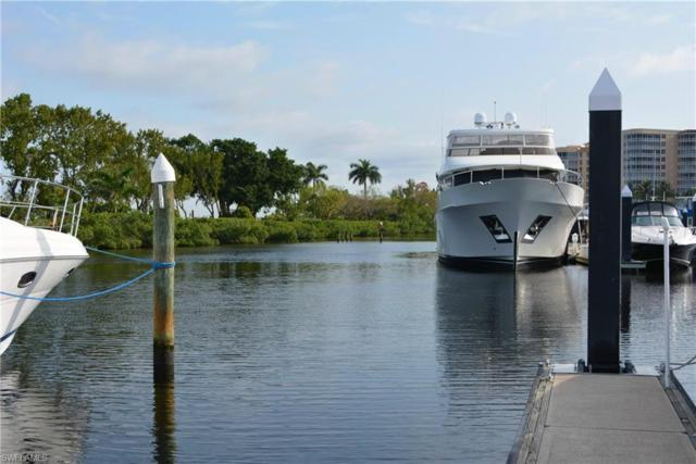 50 Ft Boat Slip At Gulf Harbour E-14, Fort Myers, FL 33908 (MLS #218041949) :: RE/MAX Realty Group
