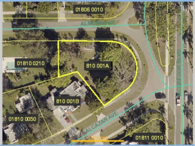Corner lot of 1375 Alcazar Ave, Fort Myers, FL 33901 (MLS #219040293) :: #1 Real Estate Services