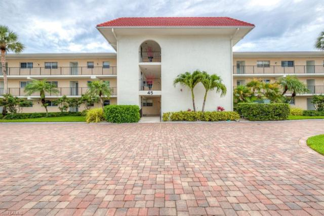 45 High Point Cir S #107, Naples, FL 34103 (MLS #219042025) :: Clausen Properties, Inc.